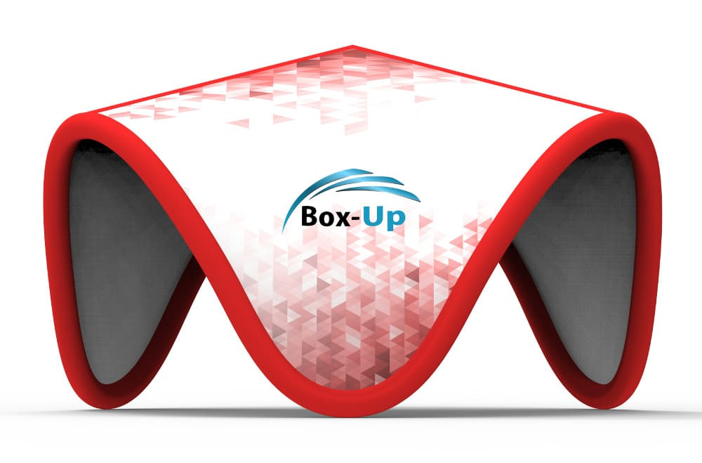 Messezelt aufblasbar Box-Up Terino