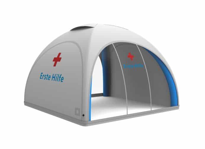 Aufblasbares Erste Hilfe Zelt Sanitätszelt